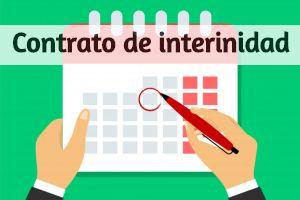 Contrato de interinidad