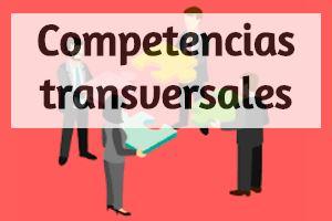 ¿Qué son las competencias transversales?