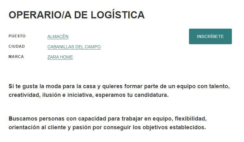 operario de logística