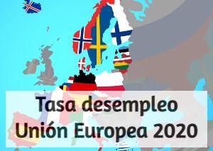 Tasa desempleo Unión Europea 220