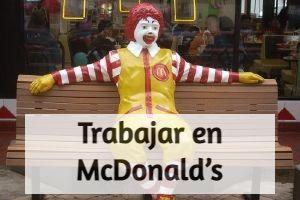 trabajar en el McDonald's